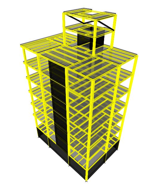 ساختمان مسکونی 7 سقف