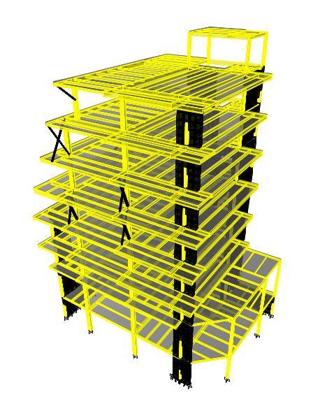 ساختمان مسکونی 8 سقف