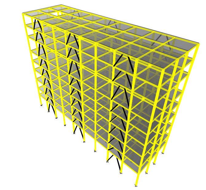 سازه صنعتی 9 سقف